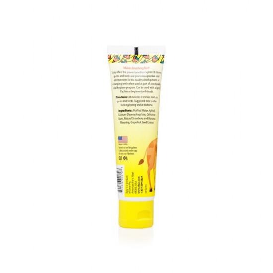 Strawberry Banana Kids Xylitol Tooth Gel