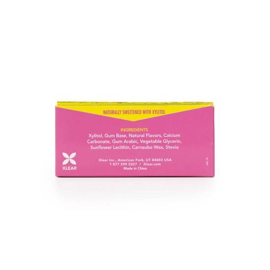 Set 20 folii x 10 gume de mestecat cu xylitol, SPRY, fara zahar, 100% ingrediente naturale, aroma guma de mestecat (bubble gum)