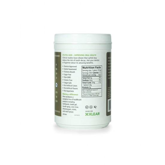 Natural Cinnamon Xylitol Gum, 550ct