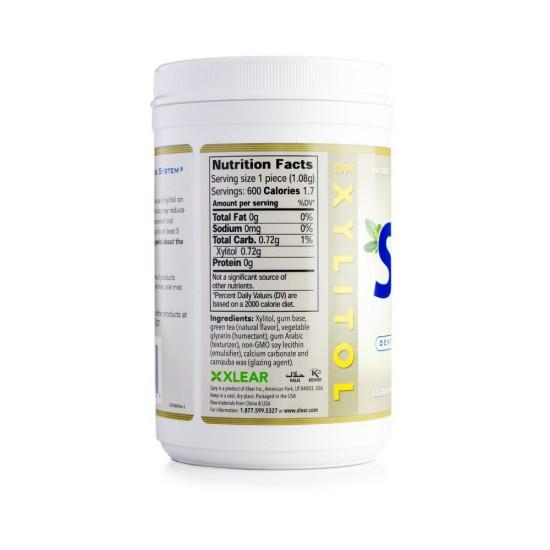 Natural Green Tea Xylitol Gum - 600ct