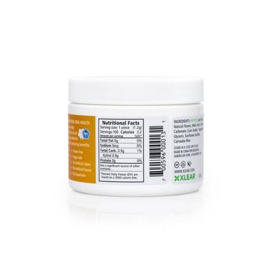 Natural Fruit Xylitol Gum - 100ct