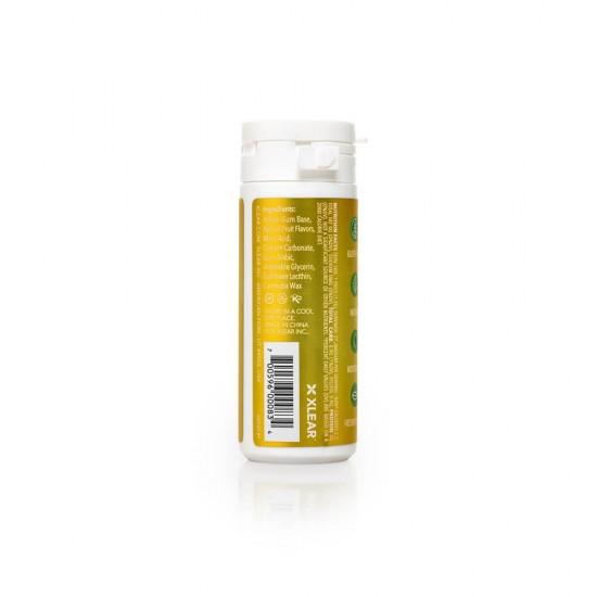 Guma de mestecat cu xylitol, SPRY, fara zahar, 100% ingrediente naturale, aroma fructe naturale (natural fruits), tub cu 27 bucati