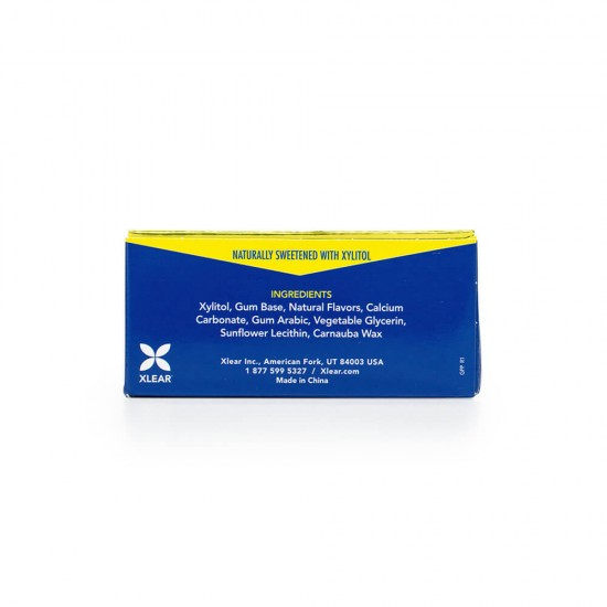 Natural Peppermint Xylitol Gum - 10ct Cards (20 Pack)