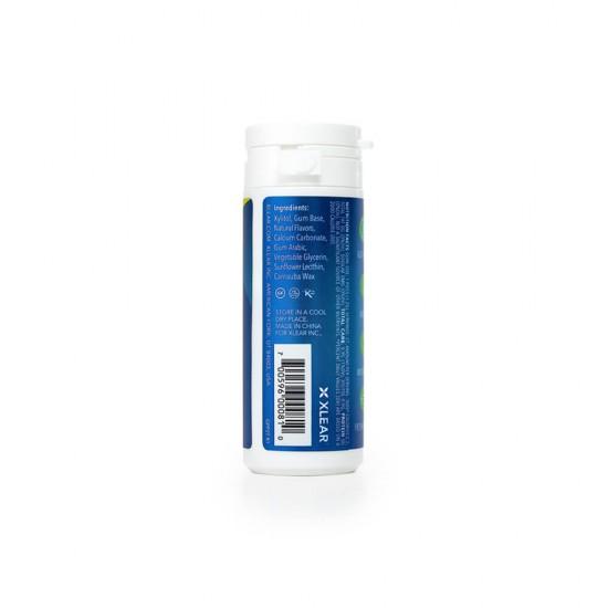 Guma de mestecat cu xylitol, SPRY, fara zahar, 100% ingrediente naturale, aroma menta (peppermint), tub 27 bucati