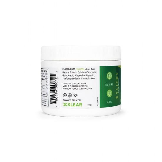Natural Spearmint Xylitol Gum - 100ct