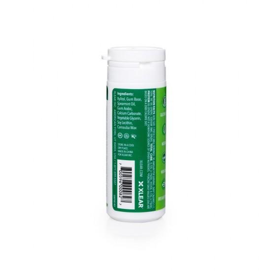 Guma de mestecat Spry, tub cu 27 tablete, menta creata (spearmint)