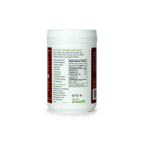 Natural Green Tea Xylitol Gum, 550ct