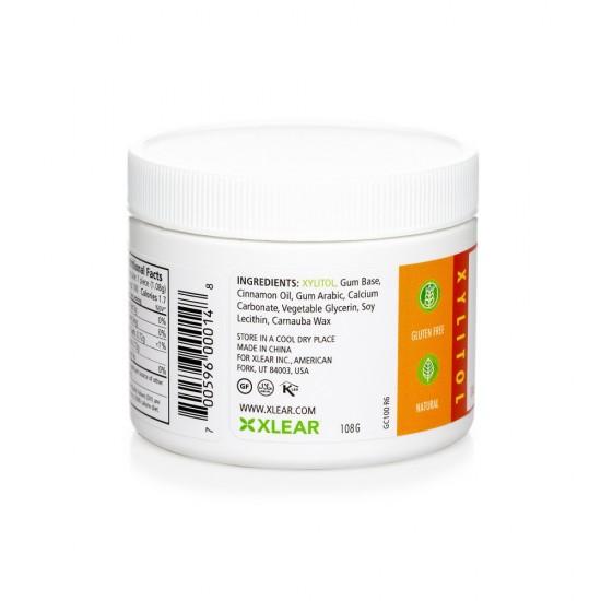 Guma de mestecat Spry, borcan cu 100 tablete, scortisoara
