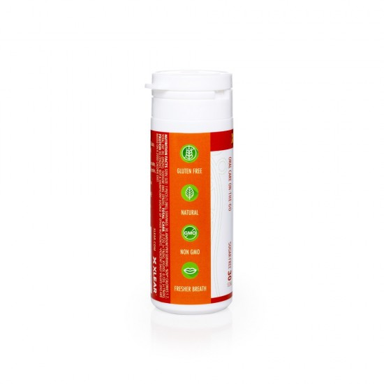 Guma de mestecat Spry, tub cu 27 tablete, scortisoara