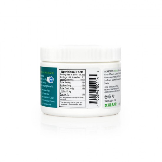 Natural Wintergreen Xylitol Gum - 100ct