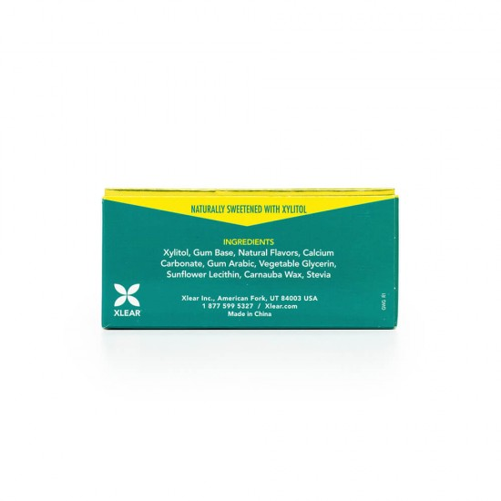 Natural Wintergeen Xylitol Gum, 10ct Blister Cards (20 Pack)