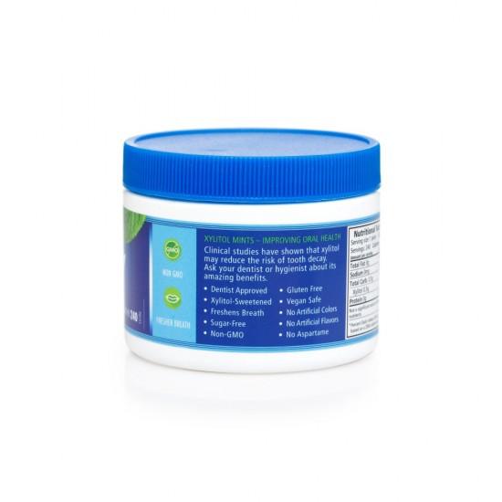 Mints SPRY menta (peppermint), borcan 240 buc., 144 g.