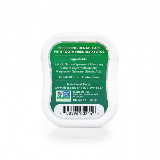 Natural Spearmint Xylitol Gems - 40ct