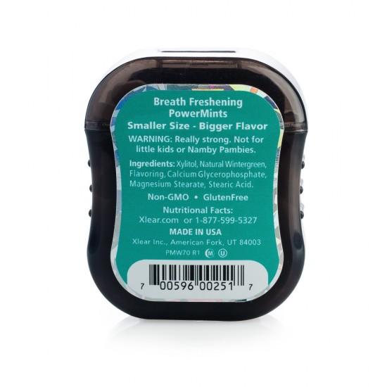 POWER Mints SPRY wintergreen, recipient 70 buc.