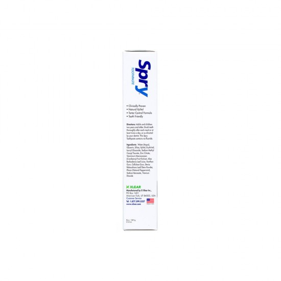 Peppermint Xylitol Toothpaste, Fluoride-Free