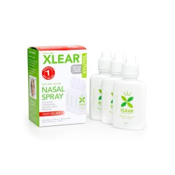 Xlear picaturi nazale adulti, 3 buc. x 22 ml.