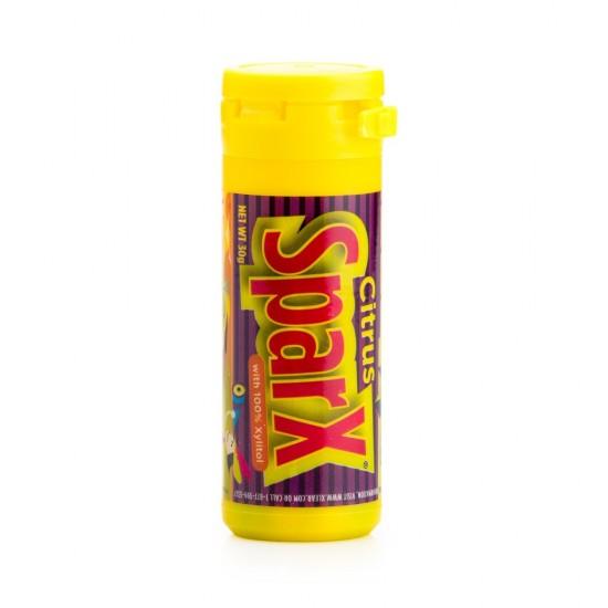 SparX, bomboane cu citrice si xylitol, tub 30 g.